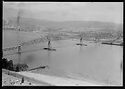 ackroyd-06947-8. Longview Bridge. June 21, 1956.