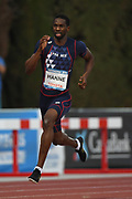 Mamoudou Elimane Hanne (FRA) competes on Men's 400 m during the Jeux Mediterraneens 2018, in Tarragona, Spain, Day 7, on June 28, 2018 - Photo Stephane Kempinaire / KMSP / ProSportsImages / DPPI