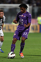 """Juan Cuadrado Fiorentina<br /> Firenze 25/09/2012 Stadio """"Franchi""""<br /> Football Calcio Serie A 2012/13<br /> Fiorentina v Juventus<br /> Foto Insidefoto Paolo Nucci"""