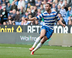 Reading's Hal Robson-Kanu - Photo mandatory by-line: Nigel Pitts-Drake/JMP - Tel: Mobile: 07966 386802 28/09/2013 - SPORT - FOOTBALL - Madejski Stadium - Reading - Reading V Birmingham City - Sky Bet Championship