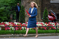 © Licensed to London News Pictures. 05/06/2018. London, UK. Secretary of State for Work and Pensions Esther McVey arrives on Downing Street for the Cabinet meeting. Photo credit: Rob Pinney/LNP