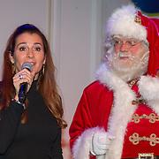 NLD/Hilversum/20151207- Sky Radio's Christmas Tree for Charity, Quinty Trustfull en de kerstman