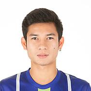THAILAND - APRIL 09: Pumin Kaewta #50 of Samut Prakan City FC on April 09, 2019.<br /> .<br /> .<br /> .<br /> (Photo by: Naratip Golf Srisupab/SEALs Sports Images/MB Media Solutions)