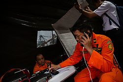 November 2, 2018 - North Jakarta, Jakarta, Indonesia - Search and Rescue team activity at Tanjung Priok Harbour-Jakarta. Indonesian Search and Rescue team known as ''BASARNAS'' work simultaneously in searching for the victim of the Lion Air Plane crash and finding fuselage of the plane helped by Indonesian Military. (Credit Image: © Donal Husni/ZUMA Wire)