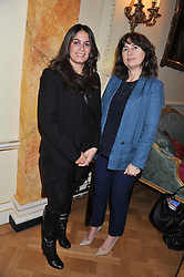 Left to right, DEBORAH JOSEPH and ALEXANDRA SHULMAN at a reception for Women in Media hosted by the Prime Minister David Cameron at 10 Downing Street, London on16th May 2013.