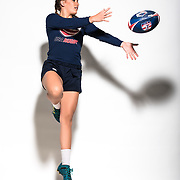 Jenna Rowan poses for a Rugby photo on Friday, July 3, 2018 at American Iron Gym in Reno, Nev.