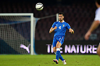 Davide Astori Italia <br /> Napoli 15-10-2013 Stadio San Paolo <br /> Football Calcio Fifa World Cup 2014 Qualifiers <br /> Europe Group B <br /> Italia - Armenia <br /> Italy - Armenia <br /> Foto Andrea Staccioli Insidefoto<br /> <br /> Fiorentina captain Davide Astori dies suddenly aged 31 . <br /> Astori was staying a hotel with his team-mates ahead of their game on Sunday away at Udinese when he passed away. <br /> Foto Insidefoto