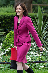 © London News Pictures. 19/05/15. London, UK. Theresa Villers, Northern Ireland Secretary, attends the cabinet meeting, Downing Street, Central London. Photo credit: Laura Lean/LNP