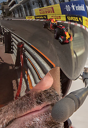 May 27, 2017 - Monte-Carlo, Monaco - Max Verstappen of Netherlands and Red Bull Racing driver goes during the qualification on Formula 1 Grand Prix de Monaco on May 27, 2017 in Monte Carlo, Monaco. (Credit Image: © Robert Szaniszlo/NurPhoto via ZUMA Press)