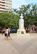 Park in Ciego de Avila, Cuba.