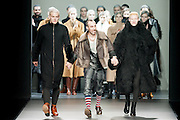 Shaun Ross model catwalk Etxebarria in Mercedes-Benz Fashion Week Madrid 2013