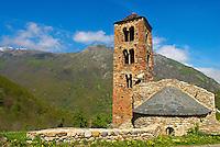 France. Ariege. Eglise de Merens. //  France. Ariege. Merens church.