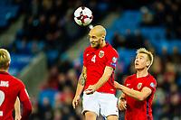 Fotball , 8 Oktober , VM Kvalifisering , FIFA World Cup European qualifiers , Landslaget , Norge - Nord-Irland , Norway - Northern Ireland , Tore Reginiussen<br /> <br />  , Foto: Marius Simensen, Digitalsport