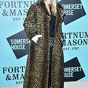 Joanna Vanderham arrivers Skate at Somerset House with Fortnum & Mason Launch party, London, Somerset House, 12 November 2019, London, UK.