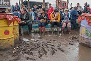 The 2016 Glastonbury Festival, Worthy Farm, Glastonbury.