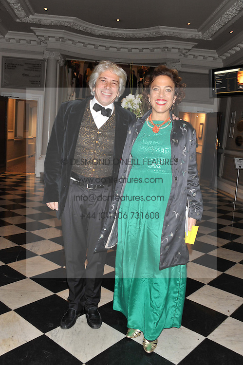 COUNT & CONTESSA FRANCESCO DA MOSTO at Brazil Now a gala ball in aid of the Red Cross held at the Grand Connaught Rooms, 61-65 Queen Street, London on 6th November 2012.
