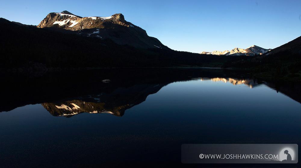 Tioga Lake at sunrise