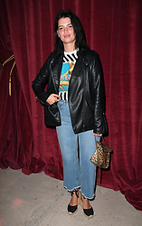Pixie Geldof on the front row during the House of Holland London Fashion Week SS18 show held at the Topshop Show Space, London. Photo credit should read: Doug Peters/EMPICS Entertainment