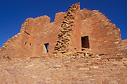Morning light on the ruins of Pueblo Bonito, Chaco Culture National Historic Park, New Mexico
