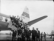Irish Olympic Boxers leave for Rome<br /> 20.08.1960