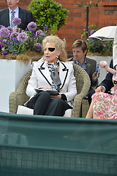 HRH PRINCESS MICHAEL OF KENT at Goffs London Sale held at The Orangery, Kensington Palace, London on 15th June 2015.