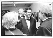Mr and Mrs. Charles Saatchi - Kay Hartenstein Saatchi- , U.F Serpentine Party, 1994, London© Copyright Photograph by Dafydd Jones 66 Stockwell Park Rd. London SW9 0DA Tel 020 7733 0108 www.dafjones.com