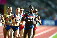 Friidrett, 23. august 2003, VM Paris,( World Championschip in Athletics),   Jearl Miles Clark, USA og Maria Cioncan (874)