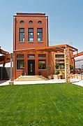 Winery building. Wine Art Estate Winery, Microchori, Drama, Macedonia, Greece
