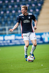 Falkirk's Liam Dick. Falkirk  2 v 2 Rotherham Utd, pre-seaon friendly.<br /> © Michael Schofield.