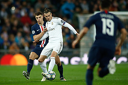November 26, 2019, Madrid, MADRID, SPAIN: Gareth Bale of Real Madrid during the UEFA Champions League football match, Group A, played between Real Madrid and Paris Saint-Germain at Santiago Bernabéu Stadium on November 26, 2019, in Madrid, Spain. (Credit Image: © AFP7 via ZUMA Wire)
