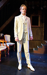 Dorian Gray <br /> based on Oscar Wilde's novel written and directed by Linnie Reedman<br /> at Riverside Studios Hammersmith, London, Great Britain  <br /> press photocall<br /> 17th April 2014 <br /> <br /> Jack Fox as Dorian Gray <br /> Daisy Bevan as Siby Vane/Leaf<br /> Antony Jardine as Basil Hallward<br /> Joe Wredden as Lord Henry <br /> Shelley Lang as Lady Henry <br /> Fenton Gray as Mr Isaacs <br /> Alma Fournier-Carballo as Lady Windermere