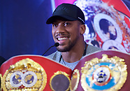 Anthony Joshua and Jarrell Miller Press Conference 250219