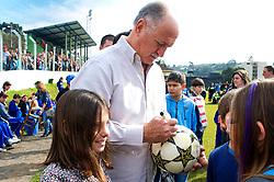 O técnico da Seleção Brasileira, Luiz Felipe Scolari  participa de jogo beneficiente para a APAE da cidade de Antônio Prado-RS em 31 de agosto de 2013. FOTO: Vinícius Costa/Preview.com