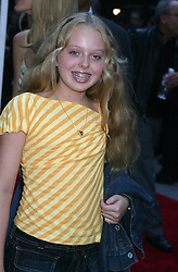 Jul 21, 2004; New York, NY, USA; TIFFANY TRUMP, daughter of Marla Maples & Donald Trump, at the world premiere of 'Little Black Book' held at the Ziegfeld Theatre..  (Credit Image: Nancy Kaszerman/ZUMAPRESS.com)