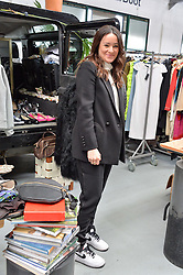 ALEX EAGLE at #SheInspiresMe Car Boot Sale in Aid of Women for Women International held at the Brewer Street Carpark, Soho, London on 23rd April 2016.