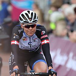08-04-2016: Wielrennen: Energiewachttour vrouwen: Stadskanaal <br />The third stage of the Energiewachttour for women Musselkanaal-Stadskanaal; Julie Leth second place