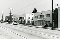 1974 Hal's Studio Cafe at Cinema General Studios on Cahuenga Blvd.