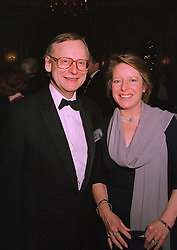 MR & MRS JOHN GUMMER he is the former Conservative minister,  at a ball in London on December 18th 1997.MEI 22