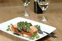 The new First Floor cafe and dad creche at the new Windermere store food salmon and asparagus tips rarebit