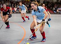 HAMBURG  (Ger) - Rotweiss Wettingen (Sui)  v  MHC Laren (Ned).  foto: Klaartje de Bruijn (Laren)     , Eurohockey Indoor  Club Cup 2019 Women . WORLDSPORTPICS COPYRIGHT  KOEN SUYK