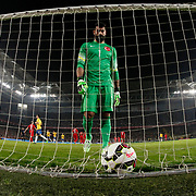 Brazil's scores during their a international friendly soccer match Turkey betwen Brazil at Sukru Saracoglu Arena in istanbul November 12, 2014. Photo by Aykut AKICI/TURKPIX