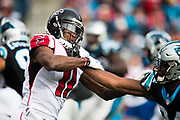 December 24, 2016: Carolina Panthers vs Atlanta Falcons. Julio Jones vs Bradberry, James