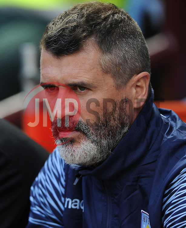 Aston Villa, Assistant Manager, Roy Keane - Photo mandatory by-line: Joe Meredith/JMP - Mobile: 07966 386802 23/08/2014 - SPORT - FOOTBALL - Birmingham - Villa Park - Aston Villa v Newcastle United - Barclays Premier League