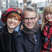 NLD/Amsterdam/20120714 - Premiere Brave, Chazia Mourali, partner Marc Schröder en dochter Jasmijn