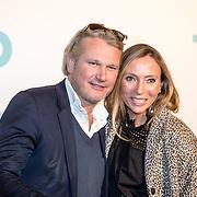 NLD/Amsterdam/20161005 - Filmpremiere Tonio, Maybrit Mobach en partner