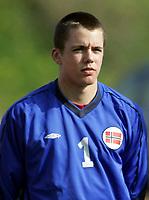 Fotball / Football<br /> International U 17 Team Tournament<br /> Norge v Polen 3-1<br /> Norway v Poland 3-1at La Manga - Spain<br /> Poland played in Norways white changing shirts<br /> 05.02.2007<br /> Foto: Morten Olsen, Digitalsport<br /> <br /> Portretter Norge / Portraits Norway<br /> <br /> Lars Stubhaug - Everton