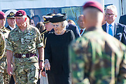 Prinses Beatrix is  aanwezig bij de Airborne Luchtlandingen en Herdenking in het kader van 75 jaar Vrijheid op de  Ginkelse Heide . Zijne Koninklijke Hoogheid Charles, The Prince of Wales woont de herdenking ook bij.<br /> <br /> Princess Beatrix is present at the Airborne Airborne and Commemoration in the context of 75 years of Freedom on the Ginkelse Heide. His Royal Highness Charles, The Prince of Wales also attends the memorial.