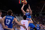 DESCRIZIONE: Torino Turin 2016 FIBA Olympic Qualifying Tournament Finale Final Italia Croazia Italy Croatia<br /> GIOCATORE : Danilo Gallinari<br /> CATEGORIA : tiro penetrazione<br /> SQUADRA : Italia Italy<br /> EVENTO : 2016 FIBA Olympic Qualifying Tournament <br /> GARA : 2016 FIBA Olympic Qualifying Tournament Finale Final Italia Croazia Italy Croatia<br /> DATA : 09/07/2016<br /> SPORT: Pallacanestro<br /> AUTORE : Agenzia Ciamillo-Castoria/Max.Ceretti <br /> Galleria : 2016 FIBA Olympic Qualifying Tournament <br /> Fotonotizia : Torino Turin 2016 FIBA Olympic Qualifying Tournament Finale Final Italia Croazia Italy Croatia<br /> Predefinita :