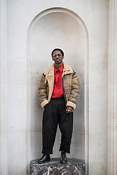 Kusi Kubi during London Fashion Week Autumn/Winter 2017 in London.  Picture date: Friday 17th February 2017. Photo credit should read: DavidJensen/EMPICS Entertainment