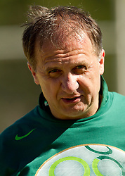 Ivan Simic during friendly match between Slovenian football journalists and officials of Slovenian football federation at  Hyde Park High School Stadium on June 16, 2010 in Johannesburg, South Africa.  (Photo by Vid Ponikvar / Sportida)